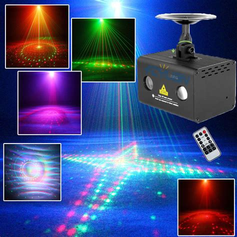 dj laser lights rgb led dj disco light green laser show projectors 20