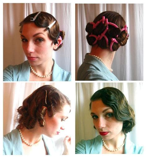 1920 Hairstyles Tutorial by 191 Best Images About 1920 S Theme On