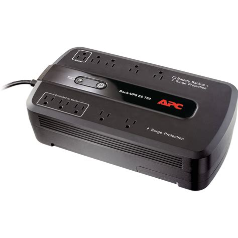 APC BE750G BackUPS 750 10 Outlet Surge Protector and