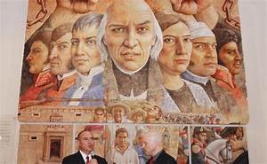 Inauguran Mural Sobre Independencia