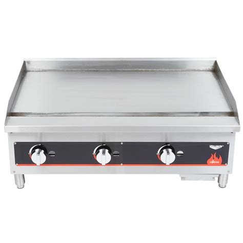 Countertop Griddle Gas by Vollrath 40721 Cayenne 36 Quot Flat Top Gas Countertop Griddle