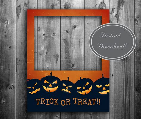 halloween poster photobooth prop instant  giant