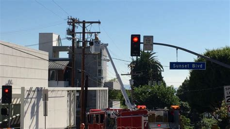 heatwave knocks  power  los angeles officials