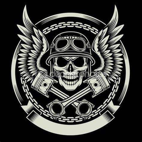 kaos t shirt motor triumph 25 best ideas about biker tattoos no crânio