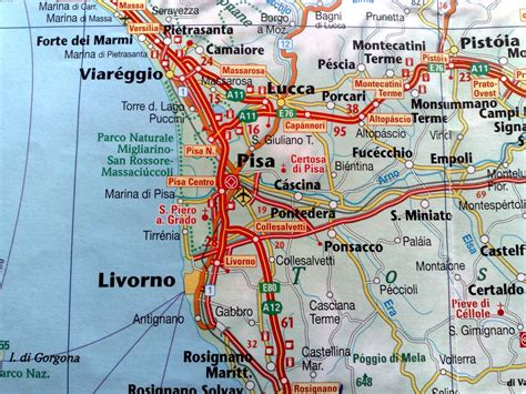 map of pisa raoul pop