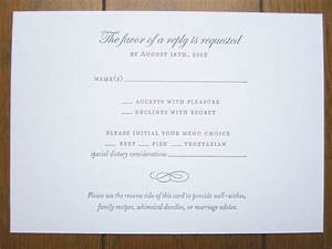 rsvp with meals and dietary needs we need to add an rsvp With wedding rsvp cards deadline
