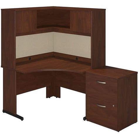 bush hansen cherry desk bush bbf series c elite c leg corner computer desk in