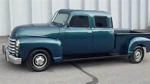 Pick Up Chevrolet 1950 : rare custom built 1950 chevrolet double cab pickup truck youtube ~ Medecine-chirurgie-esthetiques.com Avis de Voitures