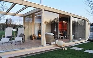 Gartenhaus Als Hauptwohnsitz : design gartenhaus als wellnessoase lifestyle und design ~ Whattoseeinmadrid.com Haus und Dekorationen