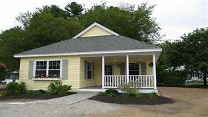 Three Bedroom Modular Homes Cottage Style Cottage Style ...