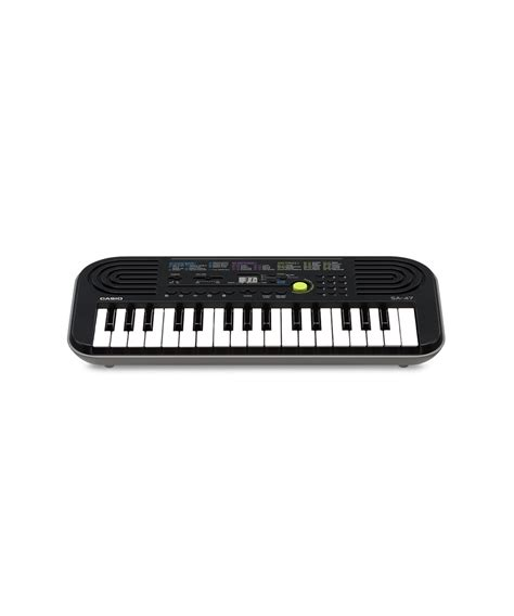 Casio Electronic Mini Keyboard Sa-47 For Children At