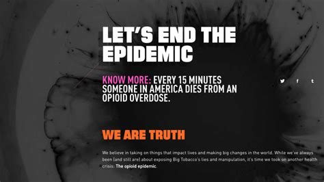 anti opioids campaign rolled    white house
