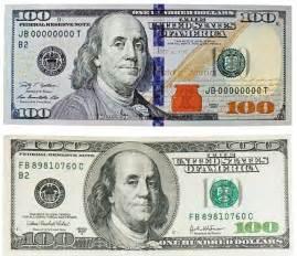New 100 Dollar Bill Printable