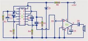 Two Tone Electronic Siren Circuit
