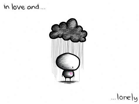 love romance cartoon mood sad sorrow storm rain