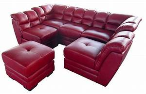 Moderne Sofa Sectionnel Cuir Canap Lit 5 Seater Sofa Set