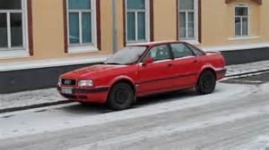 Audi 80 red gallery. MoiBibiki #7