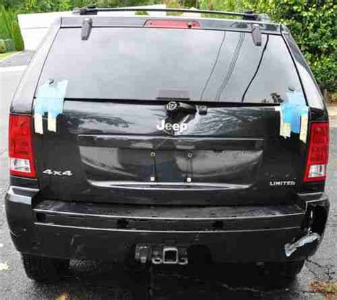 wrecked jeep grand cherokee buy used 2006 jeep grand cherokee 4 7l v8 limited 4x4