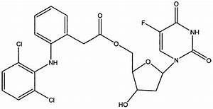 Co-drug of Floxuridine with Diclofenac (1:1) Floxuridine