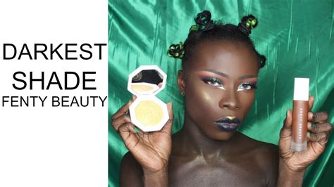 Darkest Shade Of by Fenty By Rihanna Darkest Shade 490 For Skin