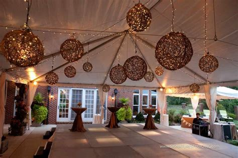 outdoor decorations favors ideas