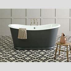 Freistehende Badewanne Birmingham Aus Guss Weiß