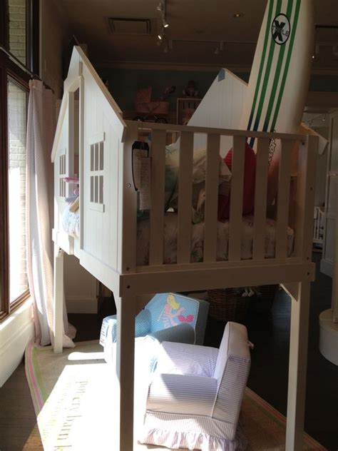 Tree House Bunk Beds For Sale - pottery barn white treehouse bunk bed floor model sale