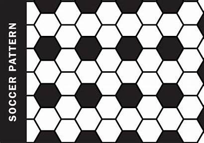 Soccer Pattern Vector Clipart