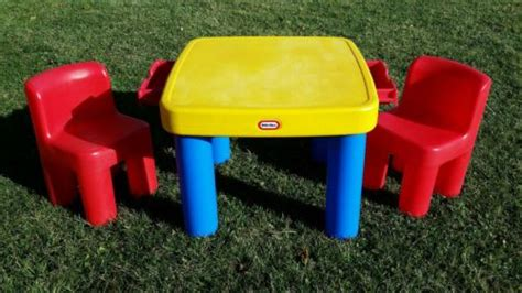 little tikes table set little tikes table and chair set vintage little tikes
