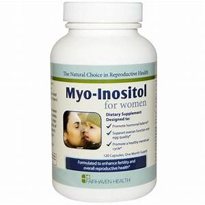 Fairhaven Health Myo Inositol For Women  U0026 Men 120caps