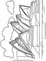Opera Sydney Coloring Drawing Taj Mahal Para Colorear Getdrawings Printable Getcolorings Del Mundo sketch template