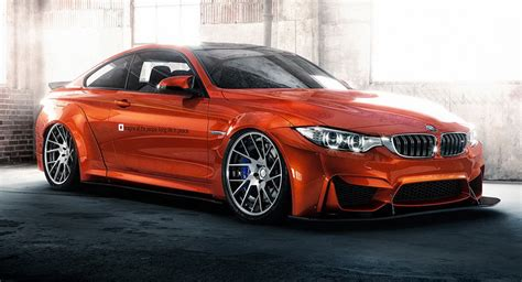 bmw m4 tuning liberty walk tuned bmw m4 wants your attention