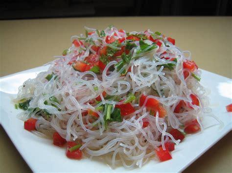 cuisiner vermicelle de riz gourmandises co vermicelle de riz en salade