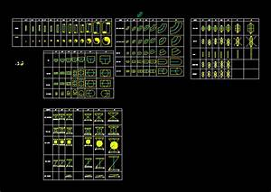 Pipes And Fittings 2D DWG Block for AutoCAD • Designs CAD