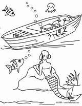 Sirene Explorando Tudodesenhos Ausmalen Sirena Restos Hellokids Sinkendes Meerjungfrauen Embarca Afundado Naufragado Mers Backofen sketch template