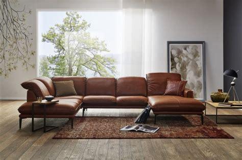 canapé cuir ou tissu grand canapé design en u cuir adoration tm