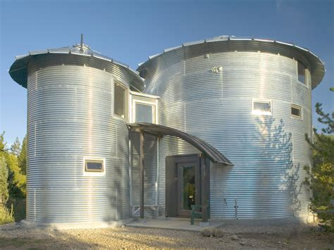Grain Bin Homes On Pinterest  Cabin Plans, Round House