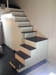 Escalier Rangement Pour Mezzanine by Escalier Mezzanine Sur Mesure Tournant