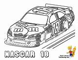 Coloring Nascar Pages Cars Printable Boys Fast Sports Super Race Colouring Sheets Drawing Yescoloring Mega Kyle Busch Speed Dale Bugatti sketch template