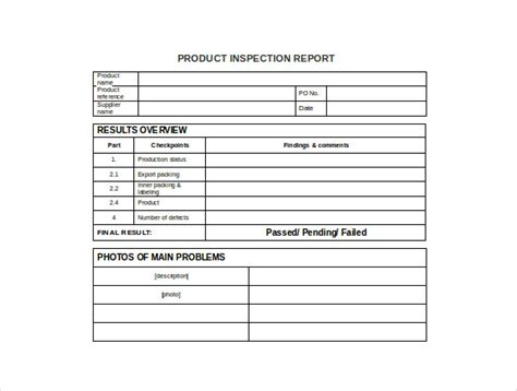 production report template   word  documents