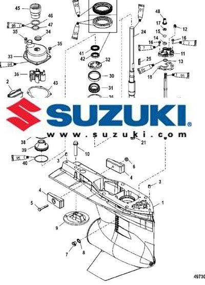 Suzuki Outboard Motors Parts by Suzuki Outboard Motor Parts Diagram Onvacations Image