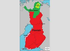 Languages of Finland, Finnish in the main language in