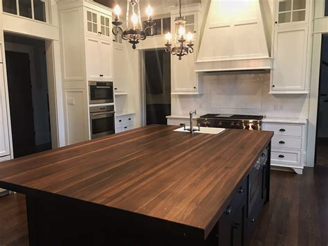 Black Walnut Countertops by Butcher Block Countertop Custom Design Wood Counters