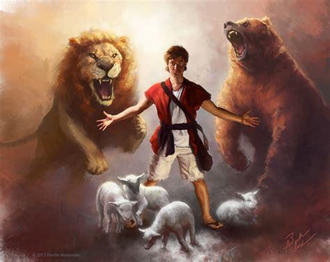 Résultat d'images pour David et lion