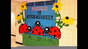 Eaasy Spring classroom door decorations - YouTube