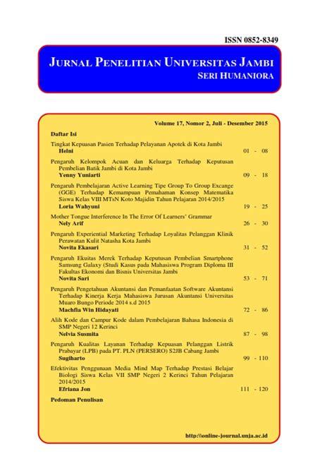 Jurnal Penelitian Universitas Jambi Seri Humaniora Neliti