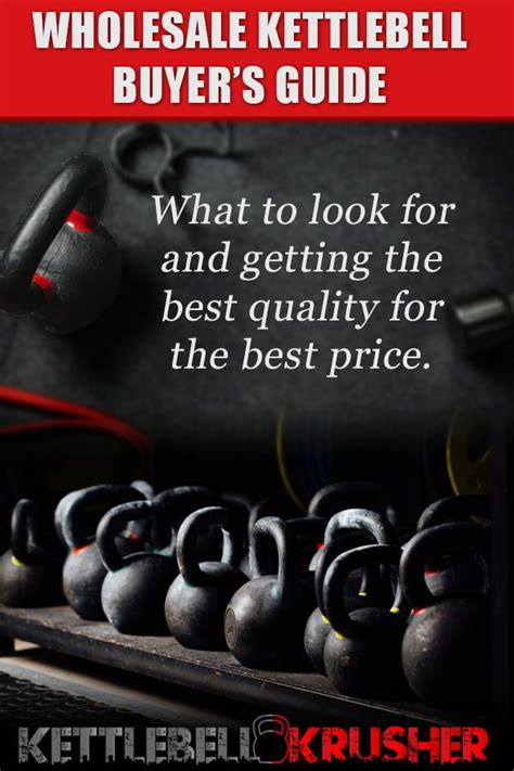 kettlebell gym wholesale guide