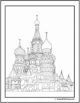 Coloring Pages Adult Cathedral Basil St Printable Catholic Sheets Colorwithfuzzy Books Pdfs Customize Fuzzy Advanced sketch template