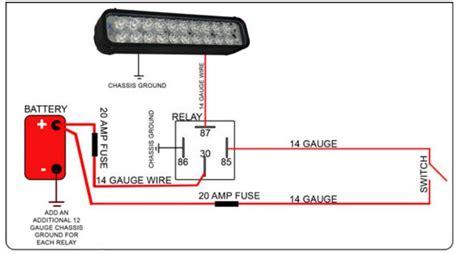 led light bar relay wire  polaris rzr forum rzr