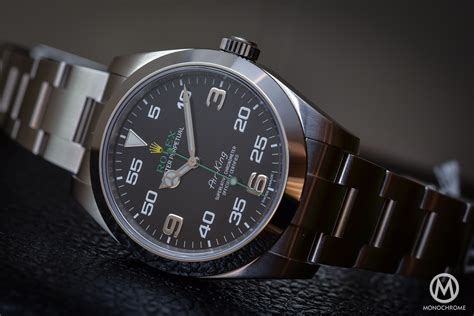 Hands-On Review - Rolex Oyster Perpetual Air-King ref ...